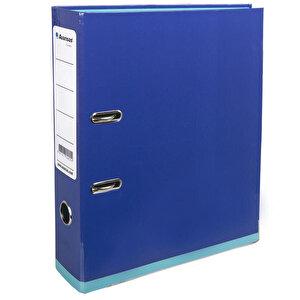 Avansas Colours Plastik Klasör Geniş A4 Saks Mavi Turkuaz buyuk 1