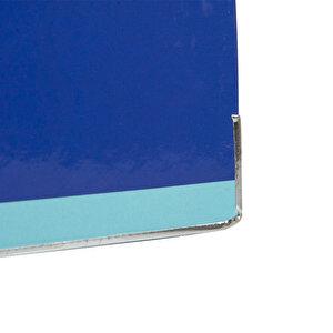 Avansas Colours Plastik Klasör Geniş A4 Saks Mavi Turkuaz buyuk 5