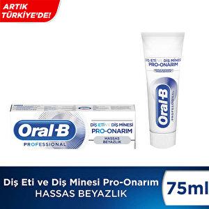 Oral-B Diş Eti ve Diş Minesi Pro-Onarım Hassas Beyazlık Diş Macunu 75 ml