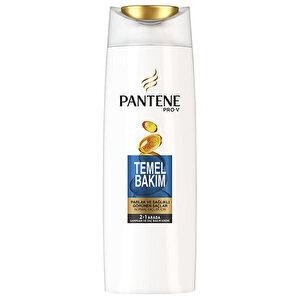 Pantene Temel Bakım 2'si 1 Arada Şampuan ve Saç Bakım Kremi 500 ml