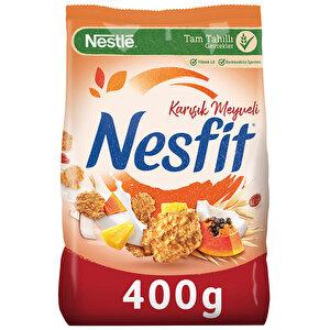 Nestle Nesfit Karışık Meyveli Tam Tahıl ve Pirinç Gevreği 400 gr