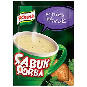 Knorr Çabuk Çorba Kremalı Tavuk 18 gr buyuk 1