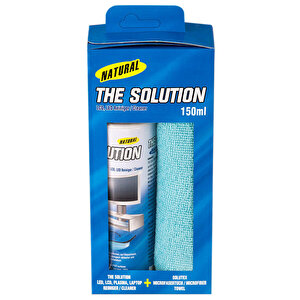 The Solution Ekran Temizleme Seti Sprey 150 ml + Havlu buyuk 1