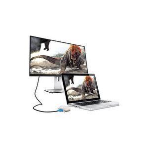 S-Link SL-USB-C68 Type C to HDMI + USB 3.0 + Pd Kablo Çevirici buyuk 3