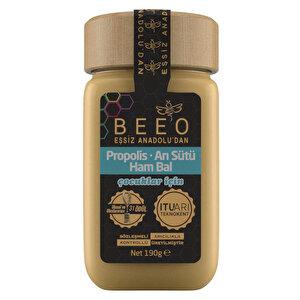 Bee'O Propolis Arı Sütü Ham Bal Çocuklar İçin 190 gr