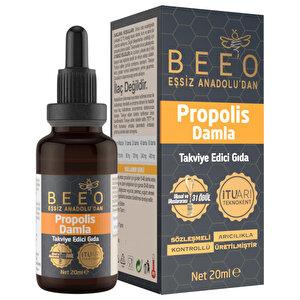 Bee'O Up Propolis Suda Çözünebilir Takviye Edici Damla 20 ml buyuk 2