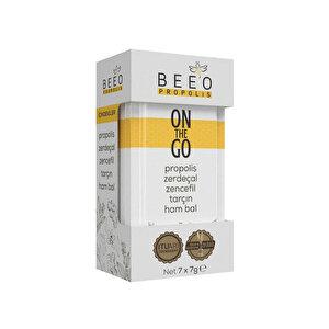 Bee'O Propolis On The Go Zerdeçal Tarçın 7 gr 7'li Paket buyuk 1