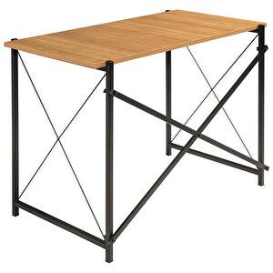 Home Modern Metal Çalışma Masası Siyah buyuk 2