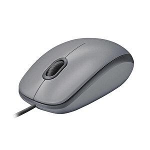 Logitech M110 Silent Kablolu Optik Mouse Gri 910-005490 buyuk 3