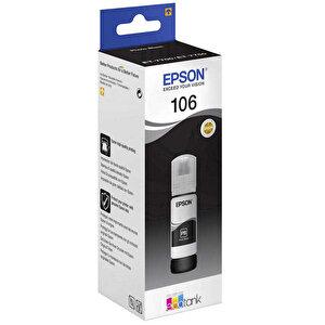 Epson 106 Kartuş Siyah (Black) 70 ml C13T00R140 buyuk 1