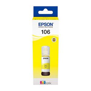 Epson 106 Kartuş Sarı (Yellow) 70 ml C13T00R440 buyuk 1