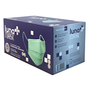 Luna 3 Katlı Cerrahi Maske 50'li Paket