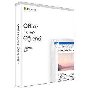 Microsoft Office Ev ve Öğrenci Türkçe 79G-051 2019 PC/Mac buyuk 1