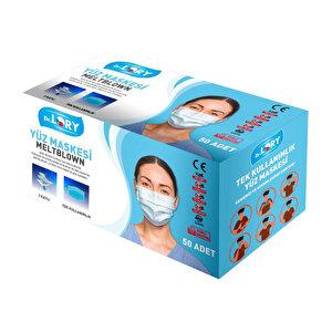 Dr. Lory Meltblown 3 Katlı Cerrahi Maske 50'li Paket buyuk 2