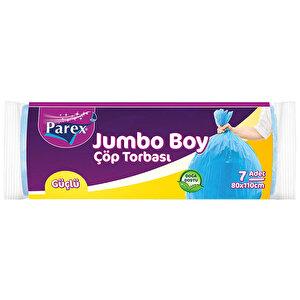 Parex Güçlü Çöp Torbası Jumbo Boy Mavi Renk buyuk 1