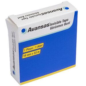 Avansas Invisible Görünmez Bant 18 mm x 33 m Tekli buyuk 2