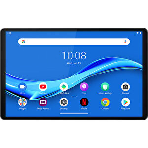"Lenovo Tab M10 Plus (2nd Gen) 64GB 10.3"" 4G LTE Tablet Siyah ZA5V0230TR buyuk 4"