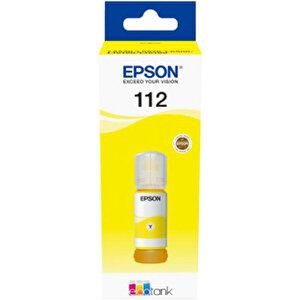 Epson C13T06C44A 112 Sarı (Yellow) Mürekkep Kartuş buyuk 1