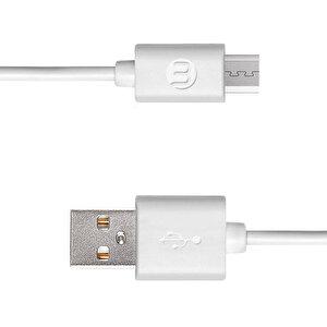 Mojue Micro USB Şarj Kablosu - Beyaz