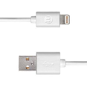 Mojue iPhone Şarj Kablosu - Beyaz