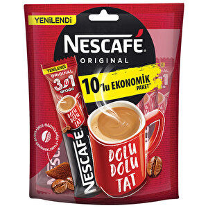 Nescafe 3'ü 1 Arada Kahve 17,5 gr 10'lu Paket buyuk 1