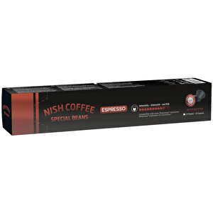 Nish Nespresso Uyumlu Kapsül Kahve 10 Ristretto 10'lu buyuk 1