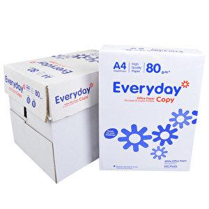 Everyday A4 Fotokopi Kağıdı 80gr 1 Koli 5 Paket buyuk 1