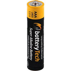 Battery Tech Süper Alkalin AAA İnce Kalem Pil 24'lü Paket