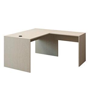 Avansas Comfort L Çalışma Masası 140 cm Akçaağaç buyuk 1