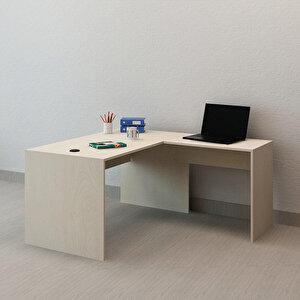 Avansas Comfort L Çalışma Masası 140 cm Akçaağaç buyuk 3