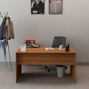 Avansas Comfort L Çalışma Masası 140 cm Teak buyuk 2