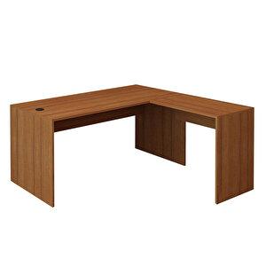 Avansas Comfort L Çalışma Masası 160 cm Teak buyuk 1
