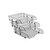 Ark 2083 Evrak Rafı Plastik Hareketli Şeffaf 3'lü kucuk 4