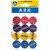 Ark 1366 Kalemtıraş Yuvarlak Karışık Renk 12'li Paket kucuk 2