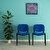 Avansas Comfort Çok Amaçlı 4'lü Misafir Sandalyesi Mavi kucuk 2