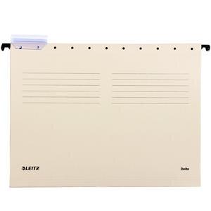 Leitz 6515 Askılı Dosya Telsiz Gri 25'li Paket