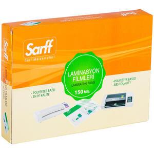 Sarff Laminasyon Filmi 150 Mikron Şeffaf A5 100'lü Kutu