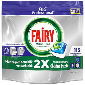Fairy Jar Hepsi Bir Arada Bulaşık Makinesi Tableti 115'li Paket